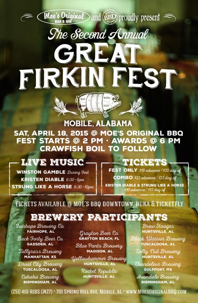 Firkin Fest Poster 2015